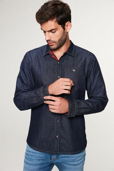 Camisa-Jeans-Dupla-Face-Xadrez-Masculina-Detalhe-2--