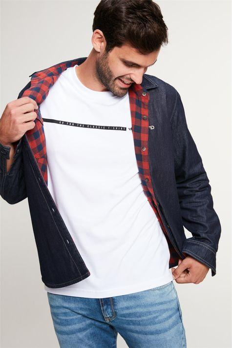 Camisa-Jeans-Dupla-Face-Xadrez-Masculina-Detalhe-4--