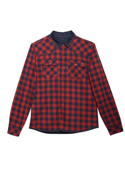Camisa-Jeans-Dupla-Face-Xadrez-Masculina-Detalhe-Still--