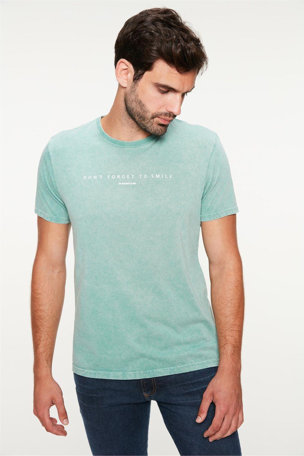 Camiseta-Estampa-Dont-Forget-To-Smile-Frente--