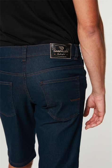 Bermuda-Jeans-Reta-Masculina-Detalhe-1--