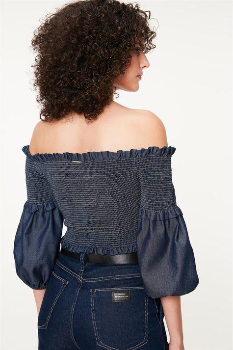Blusa-Jeans-Transpassada-com-Lastex-Costas--