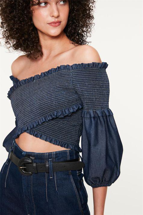 Blusa-Jeans-Transpassada-com-Lastex-Detalhe--