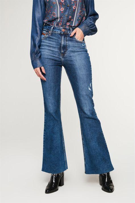 Calca-Jeans-Boot-Cut-com-Puidos-Costas--