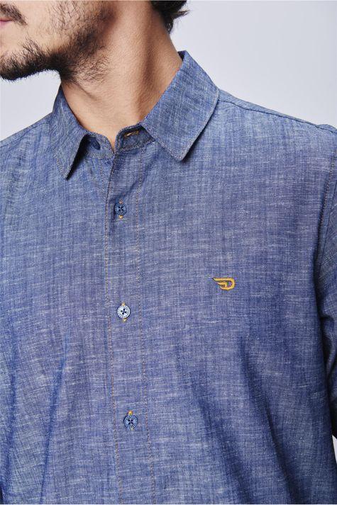 Camisa-Jeans-Masculina-Ecodamyller-Detalhe--