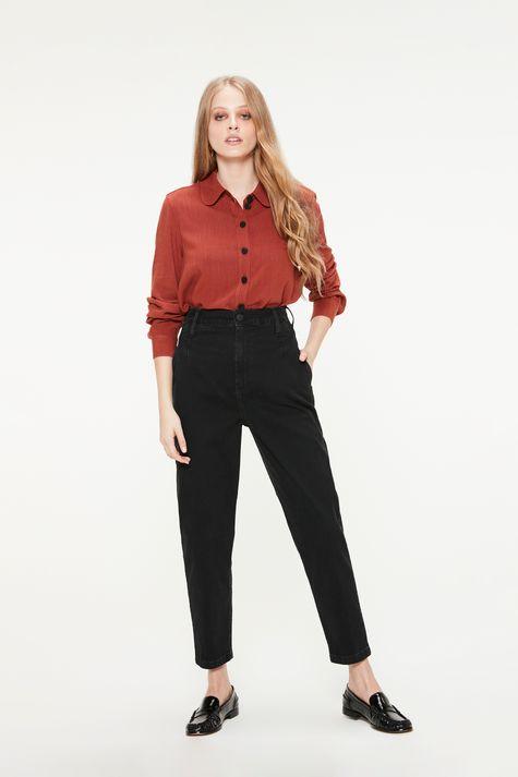 Camisa-Feminina-Terracota-Detalhe-1--