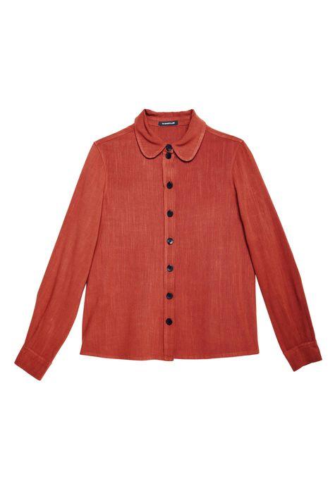 Camisa-Feminina-Terracota-Detalhe-Still--