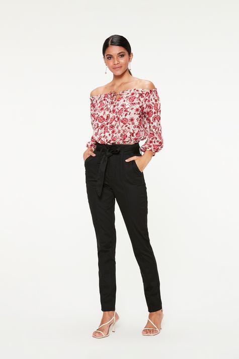 Blusa-Ombro-a-Ombro-com-Estampa-Floral-Detalhe-1--