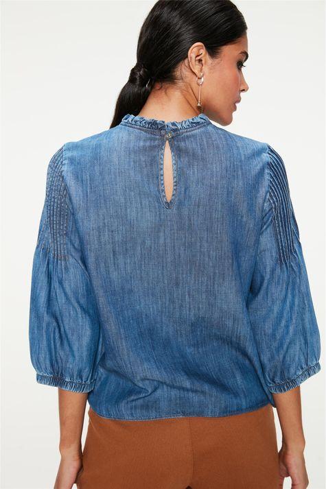 Blusa-Jeans-com-Mangas-3-4-Bufantes-Costas--