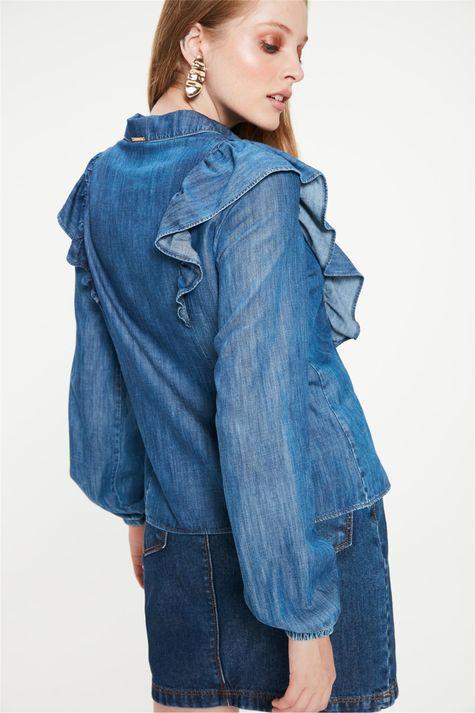 Camisa-Jeans-com-Babados-Feminina-Costas--