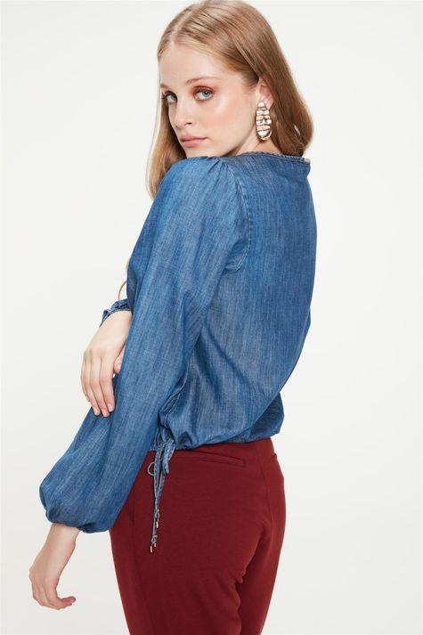 Blusa-Jeans-com-Mangas-Bufantes-Costas--