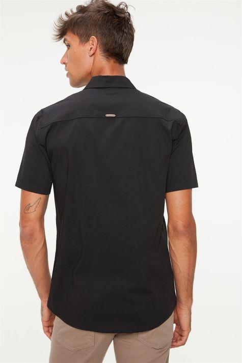 camisa-manga-curta-lisa-masculina-Costas--