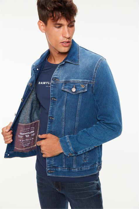 Jaqueta-Jeans-Media-Trucker-Masculina-Frente--