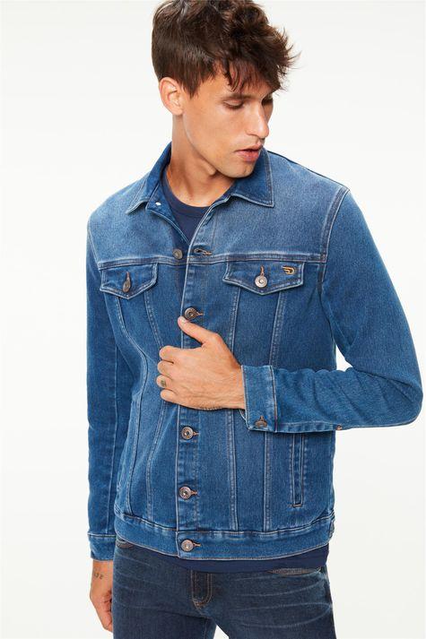 Jaqueta-Jeans-Media-Trucker-Masculina-Detalhe--
