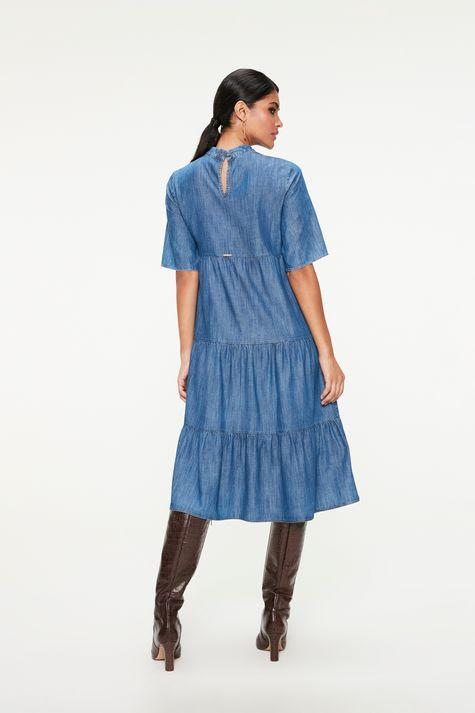 Vestido-Jeans-de-Camadas-com-Nervuras-Costas--