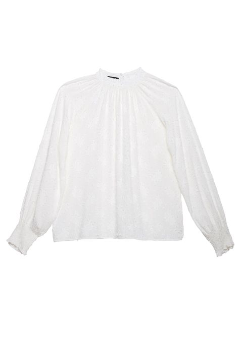Blusa-Franzida-no-Decote-com-Textura-Detalhe-Still--