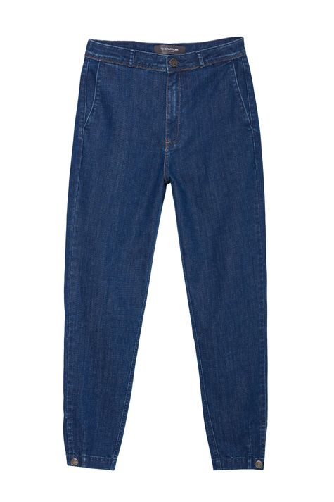 Calca-Jeans-Chino-Cropped-Cintura-Alta-Detalhe-Still--