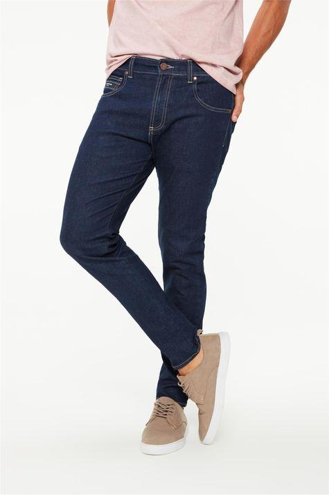 Calça-Jeans-Azul-Escuro-Super-Skinny-Detalhe--