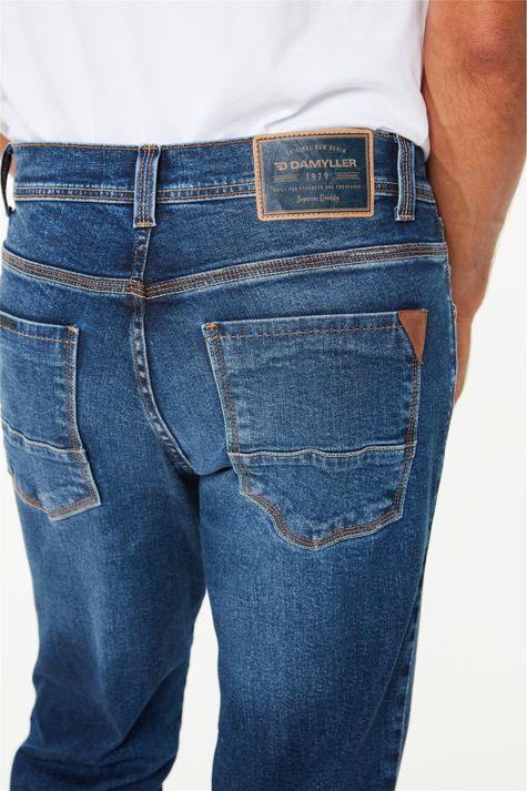 Calça-Jeans-Azul-Escuro-Slim-Masculina-Detalhe-2--