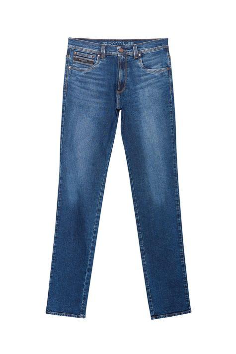 Calça-Jeans-Azul-Escuro-Slim-Masculina-Detalhe-Still--