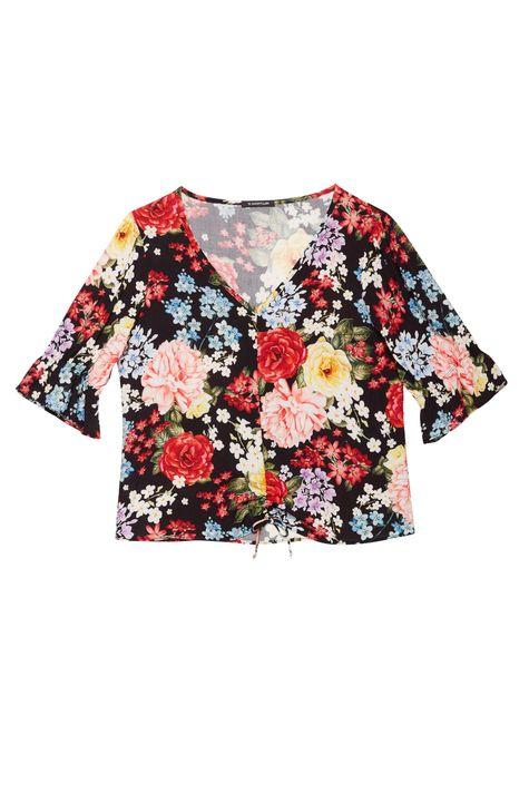 Blusa-Franzida-com-Estampa-de-Flores-Detalhe-Still--