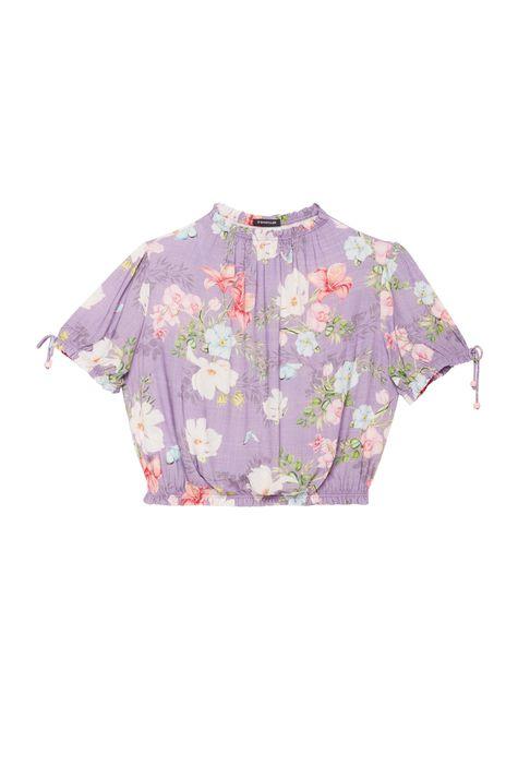 Blusa-Cropped-Franzida-Estampa-Floral-Detalhe-Still--
