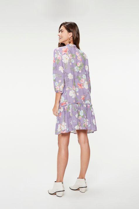 Vestido-Medio-Mangas-3-4-Estampa-Floral-Costas--