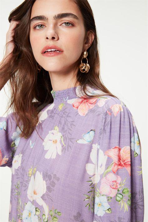 Vestido-Medio-Mangas-3-4-Estampa-Floral-Detalhe--