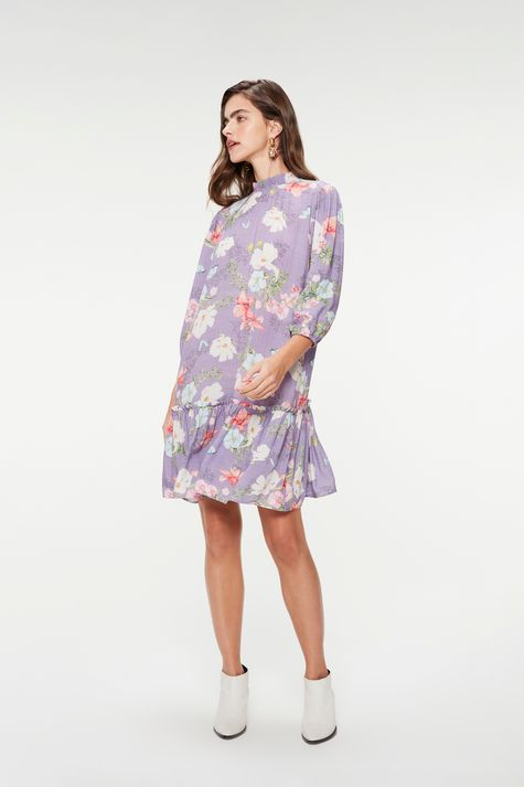 Vestido-Medio-Mangas-3-4-Estampa-Floral-Detalhe-1--