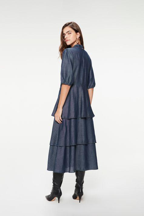 Vestido-Jeans-Midi-com-Babados-Gola-Laco-Costas--