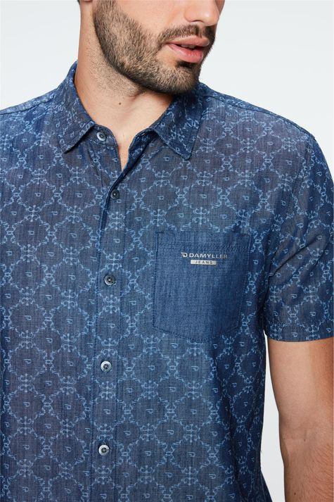 Camisa-Jeans-de-Manga-Curta-Estampada-Detalhe-1--