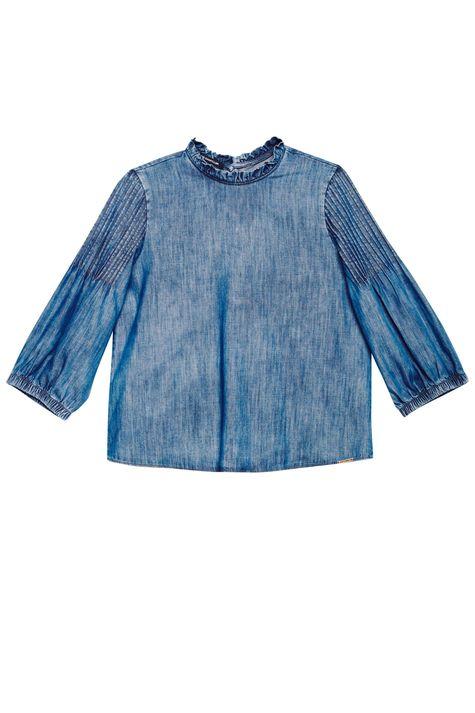 Blusa-Jeans-com-Mangas-3-4-Bufantes-Detalhe-Still--