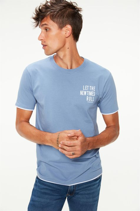 Camiseta-Estampa-Let-The-New-Times-Roll-Frente--