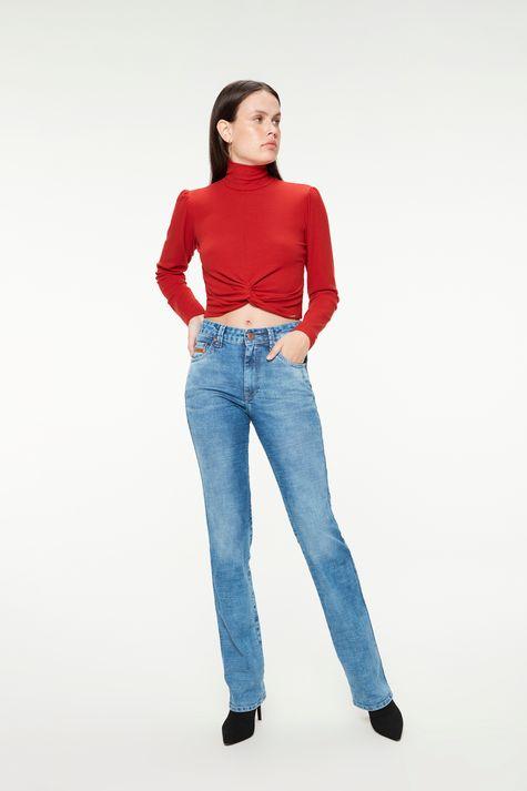 Calca-Jeans-Azul-Medio-Reta-Cintura-Alta-Frente--