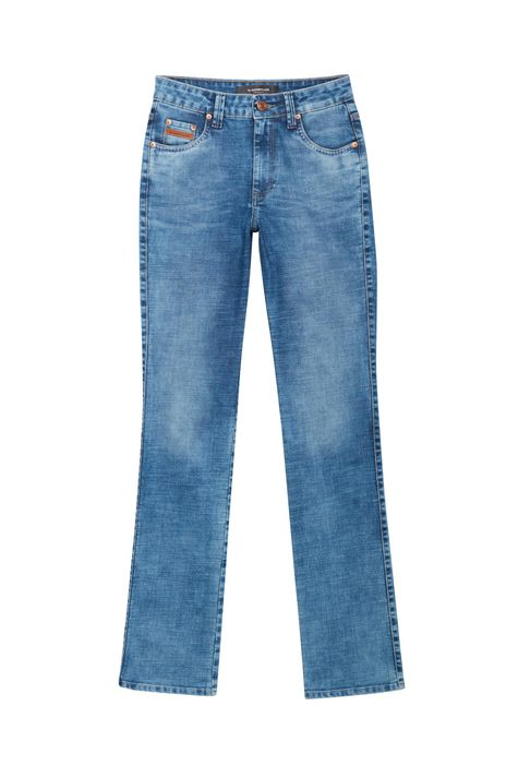 Calca-Jeans-Azul-Medio-Reta-Cintura-Alta-Detalhe-Still--