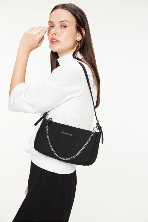 Bolsa-Baguete-Jeans-Black-Frente--