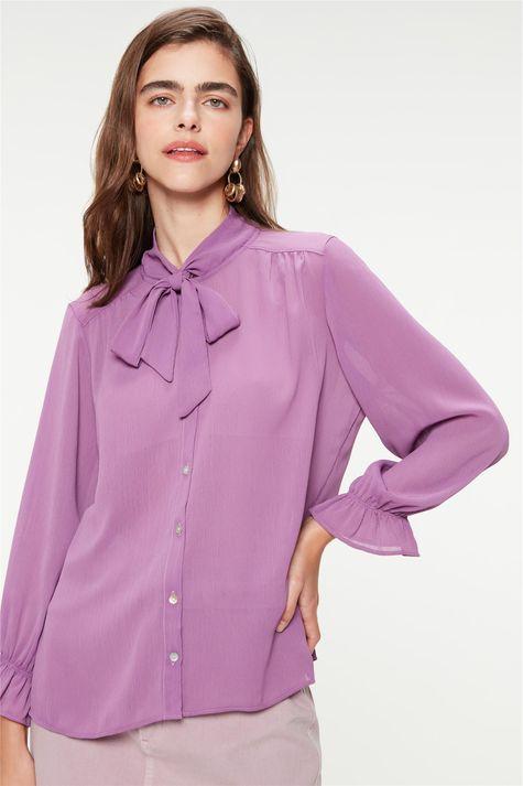 Camisa-Lisa-com-Transparencia-Gola-Laco-Frente--