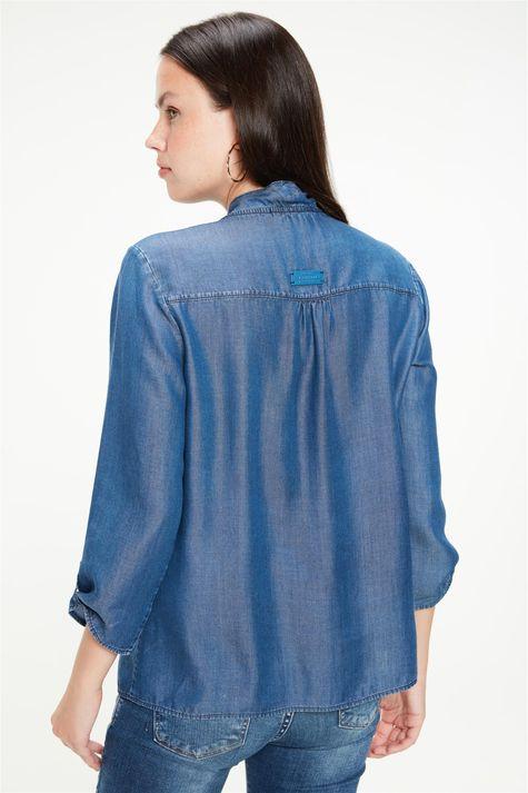 Camisa-Jeans-com-Mangas-7-8-e-Gola-Laco-Costas--