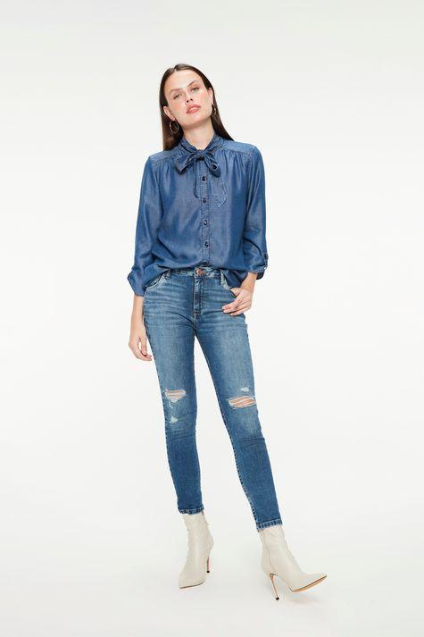 Camisa-Jeans-com-Mangas-7-8-e-Gola-Laco-Detalhe-1--