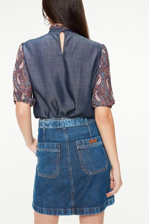 Saia-Jeans-Mini-Utilitaria-com-Cinto-Costas--