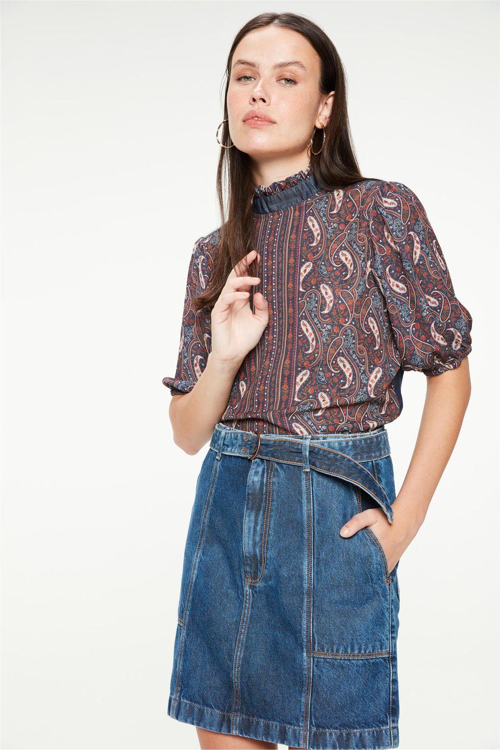 Saia-Jeans-Mini-Utilitaria-com-Cinto-Frente--