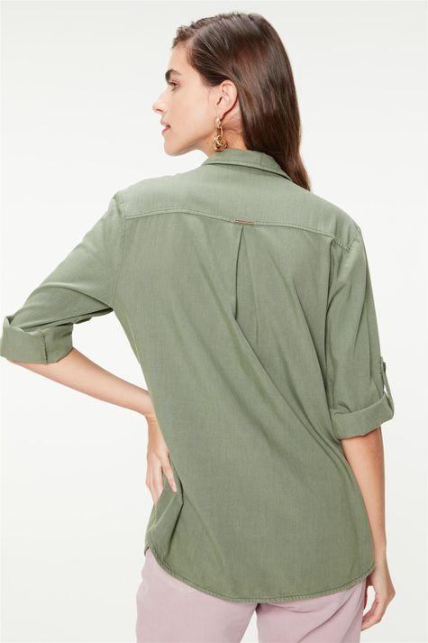 Camisa-Utilitaria-Mangas-7-8-Feminina-Costas--