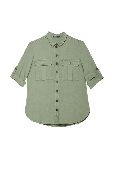 Camisa-Utilitaria-Mangas-7-8-Feminina-Detalhe-Still--