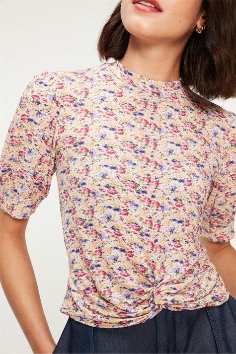Blusa-com-Estampa-Floral-Mini -Detalhe--