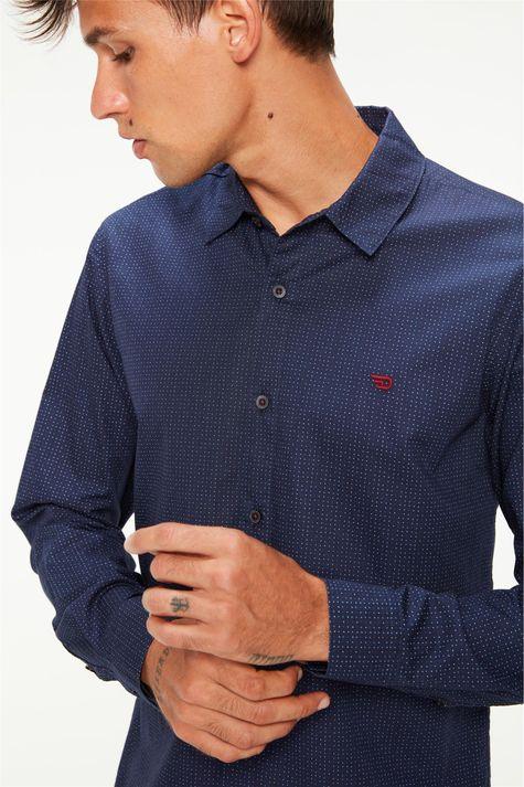 Camisa-Manga-Longa-Estampa-de-Bolinhas-Detalhe--