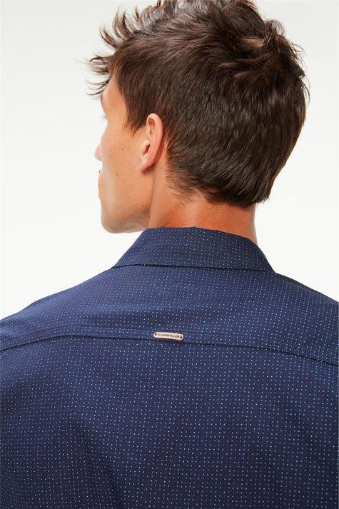 Camisa-Manga-Longa-Estampa-de-Bolinhas-Detalhe-1--