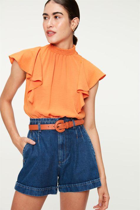 Short-Jeans-Medio-Clochard-Cinto-Color-Frente--