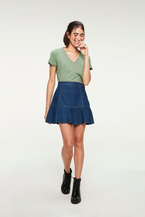 Saia-Jeans-Mini-Peplum-com-Recortes-Detalhe-1--