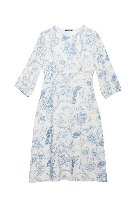 Vestido-Midi-Mangas-3-4-e-Estampa-Floral-Detalhe-Still--