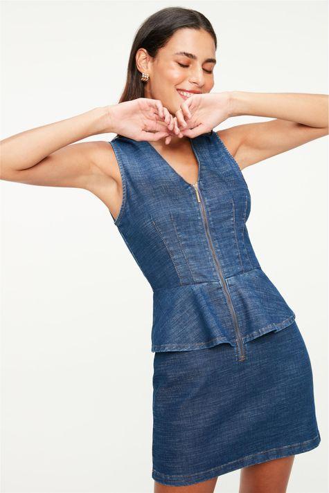Vestido-Jeans-Mini-Peplum-Frente--
